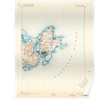 Massachusetts  USGS Historical Topo Map MA Gloucester 352703 1893 62500 Poster