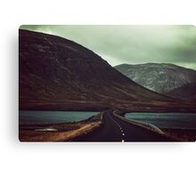 Chasing your desolate apathy Canvas Print