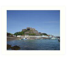 Jerseys' Gorey Castle Art Print