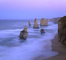 Sunrise Over 12 Apostles Great Ocean Road Australia by mattw