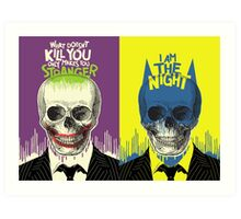 The Stranger + The Night | Double Feature Art Print
