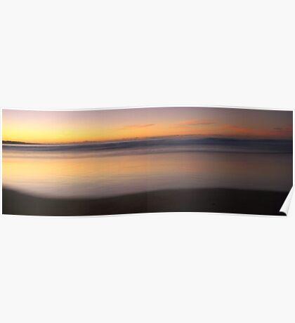 Queens Cliff Beach Sunrise Australia Poster