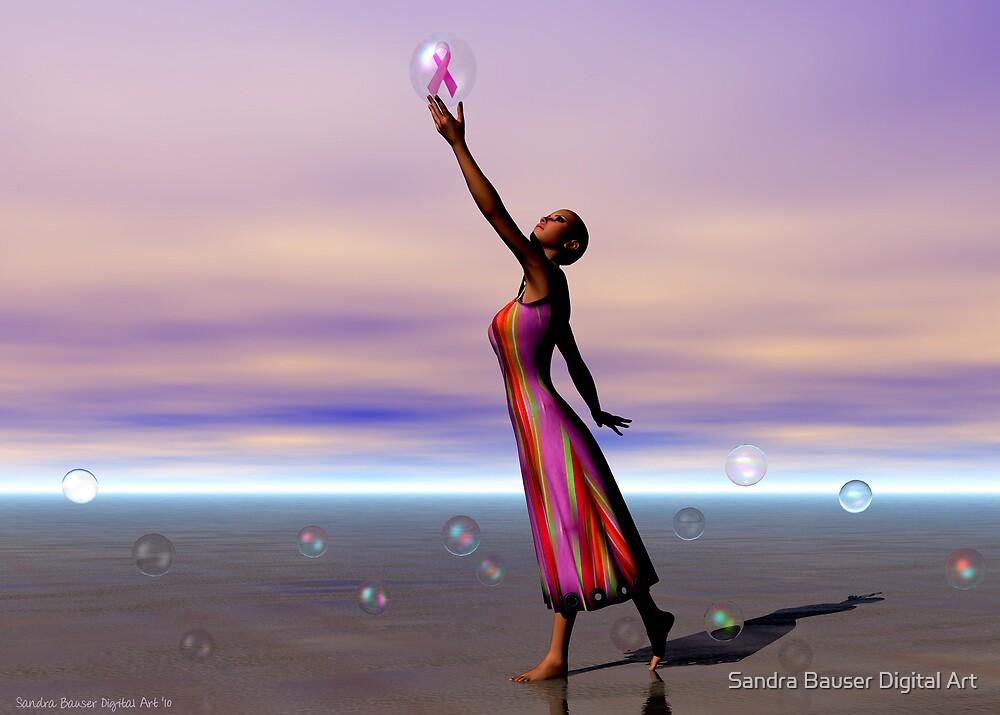 Reaching for a Cure by Sandra Bauser Digital Art