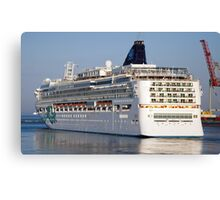 Large cruise liner Canvas Print