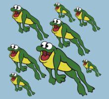 Leap Frogs Kids Tee