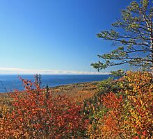 """Autumn Lake Superior"" by MarieR"