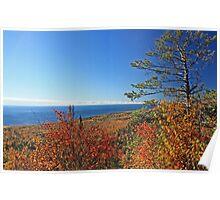 """""""Autumn Lake Superior"""" Poster"""