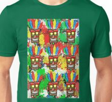 tiki mask Unisex T-Shirt