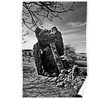 Kilmogue Portal Tomb, County Kilkenny, Ireland Poster