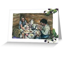 Buttermilk & Blackberries Greeting Card