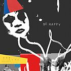 Be Happy Clown by Mark Skay
