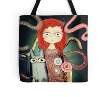 No spoken words, just a scream. Tote Bag