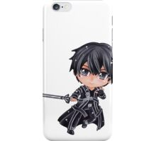 Sword Art Online Kirito Chibi1 iPhone Case/Skin