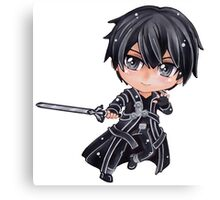 Sword Art Online Kirito Chibi1 Canvas Print