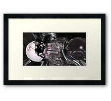 Racing Into Oblivion Framed Print