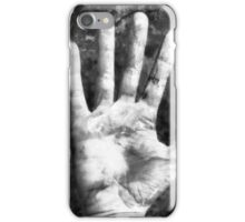 Self Portrait (Right Hand) iPhone Case/Skin