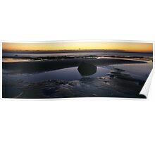 Sunrise over Robin Hoods Bay Poster