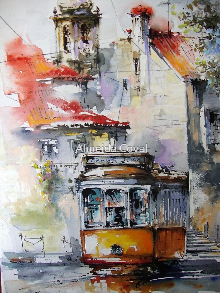 my old lisbon.. by Almeida Coval