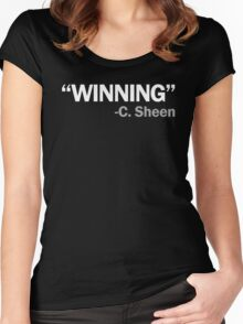 WINNING Women's Fitted Scoop T-Shirt