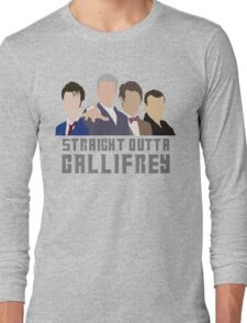 Straight Outta Gallifrey Long Sleeve T-Shirt