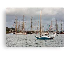 Falmouth Tall Ships Canvas Print