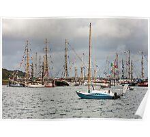 Falmouth Tall Ships Poster
