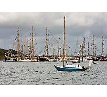 Falmouth Tall Ships Photographic Print