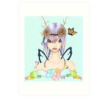 Serenity Fairy-Fantasy Art Art Print