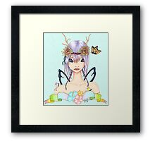 Serenity Fairy-Fantasy Art Framed Print