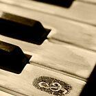Grunge piano keys by LeonaParadoxa
