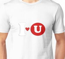 I love you t-shirt design Unisex T-Shirt