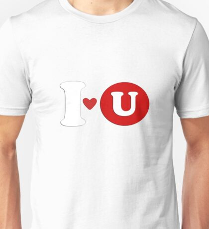 I love you t-shirt design Unisex T-Shirt