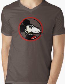 Mickey Rat Mens V-Neck T-Shirt