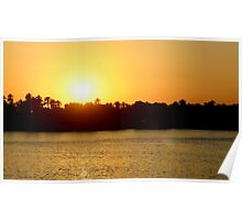 Nile Sunset Poster