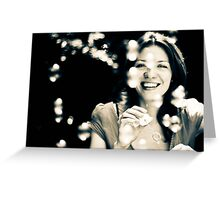 Moment of joy Greeting Card