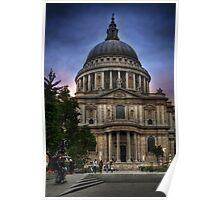 St Paul's Cathedral - London Poster