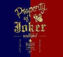 Property of Joker by vanille