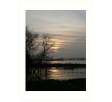 Yorkshire Wetlands Art Print