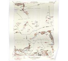 Massachusetts  USGS Historical Topo Map MA Hull 351808 1946 31680 Poster
