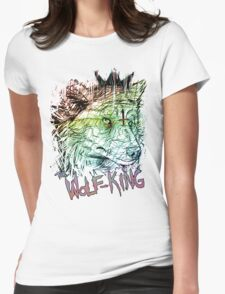 WOLFPUNK Womens Fitted T-Shirt
