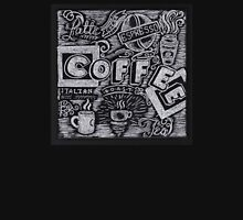 Coffee Chalk Sketch T-Shirt