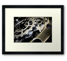 Darkening Clockwork Framed Print