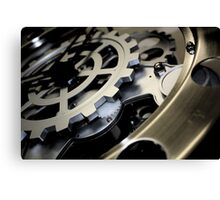 Darkening Clockwork Canvas Print