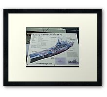 Battleship NC Framed Print