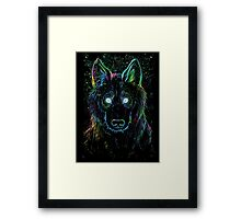galaxy eater Framed Print