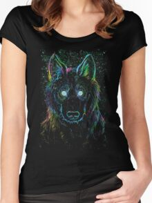 galaxy eater Women's Fitted Scoop T-Shirt