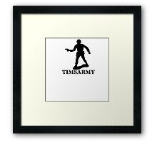 ARMY MAN Framed Print