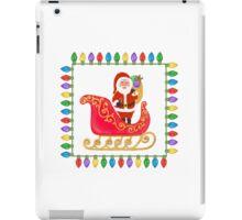 Santa in his Sleigh iPad Case/Skin