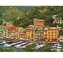 Village Harbour Photographic Print