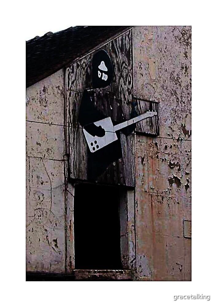 Guitar man by gracetalking